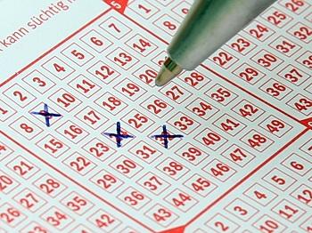 Välj den vinnande lottoraden